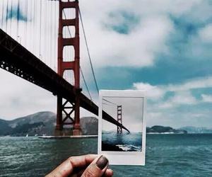travel, bridge, and photography image