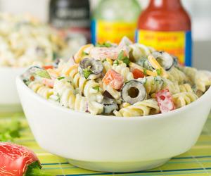 food, pasta, and ranch image