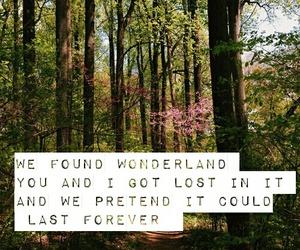 Taylor Swift, wonderland, and btw fav song image
