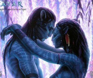 avatar, beauty, and blue image