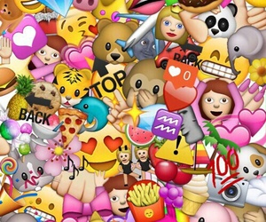 wallpaper, emoji, and emojis image