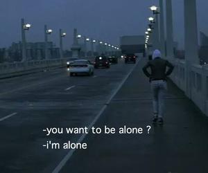 alone and sad image