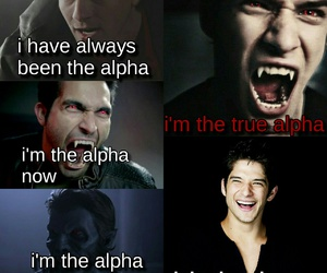 alpha, teen wolf, and were wolf image