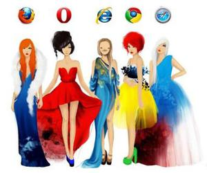 chrome, internet, and firefox image