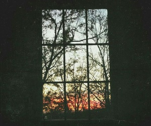 window, grunge, and vintage image