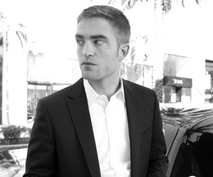 black and white, pattinson, and robert image