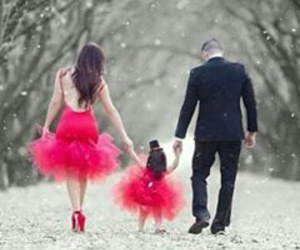 family, style, and love image
