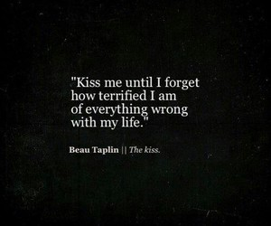 kiss, wrong, and quotes image