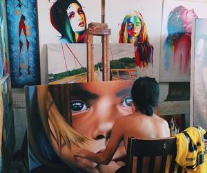 art, culture, and painted image