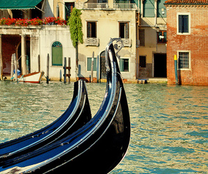 venice, beautiful, and canal image