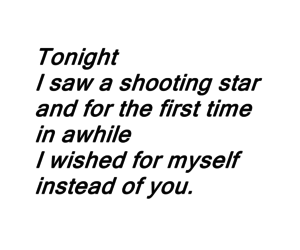 quote, shooting star, and stars image