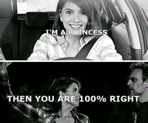 princess, Queen, and teen wolf image