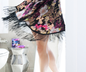 bathroom, essentials, and getting ready image