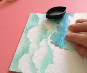 diy, clouds, and blue image
