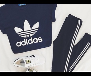 adidas, trainers, and joggers image