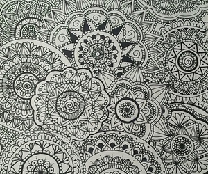 drawing, mandalas, and art image