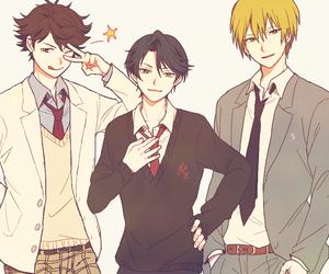 anime, girl, and haikyuu image