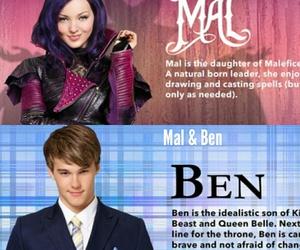 ben, Collage, and descendants image
