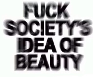 beauty, death, and fuck image