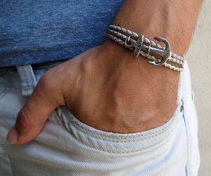 mens jewelry, men's accessories, and mens leather jewelry image