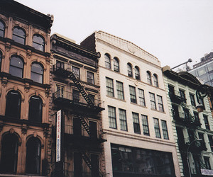 building, city, and vintage image