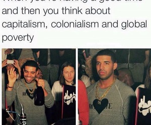 partying, poverty, and colonialism image