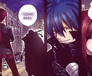 fairy tail, erza, and jellal image
