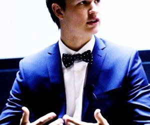 ansel elgort, boy, and the fault in our stars image