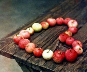 apple and heart image