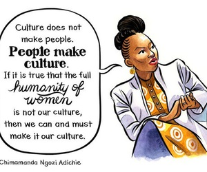 culture, feminism, and women image