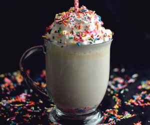 food, birthday, and drink image