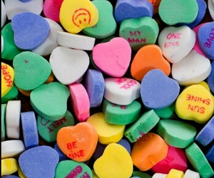 candy, heart, and wallpaper image