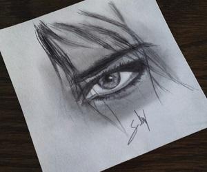 alternative, art, and eyes image