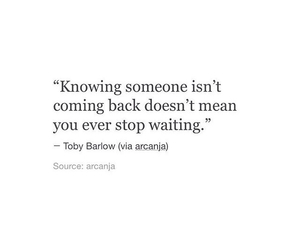 qoutes, waiting, and love image