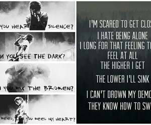 bring me the horizon, oli sykes, and can you feel my heart image