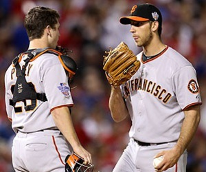 giants, san francisco, and buster posey image