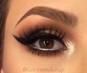 belleza, eye shadows, and make up image