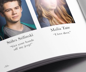 teen wolf, stiles stilinski, and malia tate image
