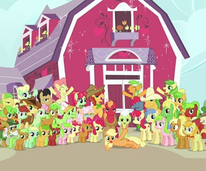 apple, cute, and family image
