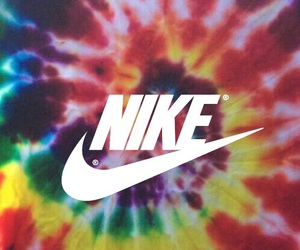 colors, nike, and wallpaper image