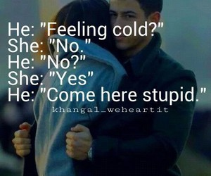 cold, tumblr, and couple image
