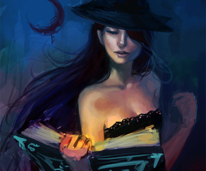 drawing and witch image