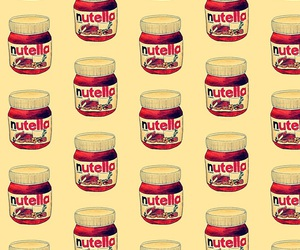 nutella, food, and wallpaper image