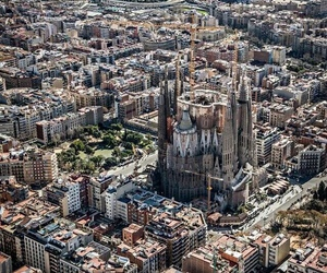 Barcelona, spain, and cities image