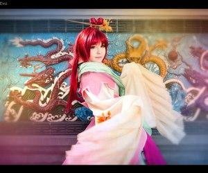 halloween costume ideas, kougyoku ren cosplay, and anime princess cosplay image