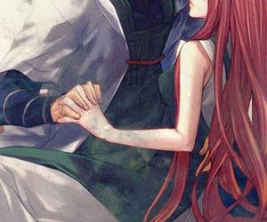 anime couple, anime art, and naruto anime image