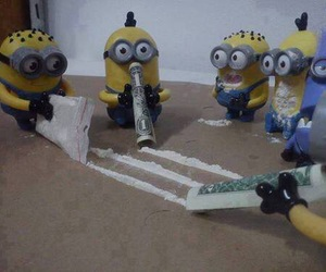 minions and drugs image