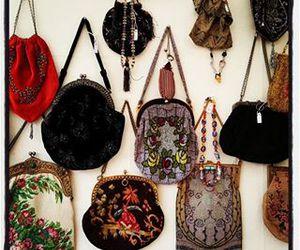 bag, flea market, and cute image