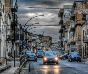car, hdr, and city image