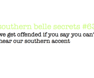 accent, southern, and southern belle image